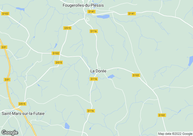 Map for La Doree ,Pays-de-la-Loire ,France