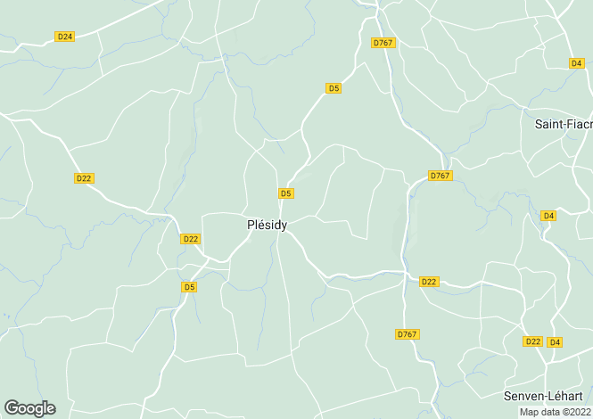 Map for plesidy, Côtes-d'Armor, France