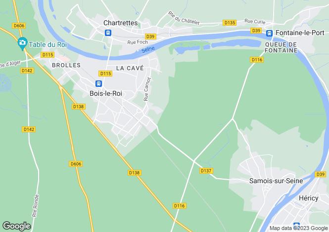 Map for BOIS-LE-ROI