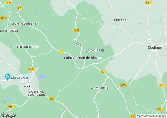 Map for st-quentin-de-blavou, Orne, France