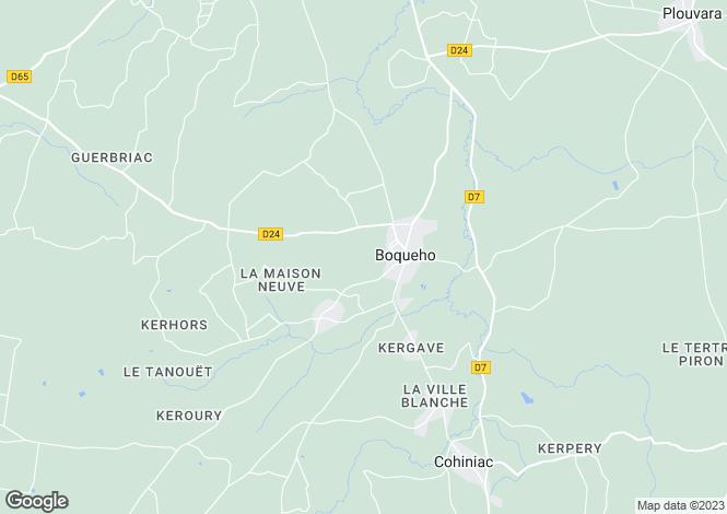 Map for boqueho, Côtes-d'Armor, France