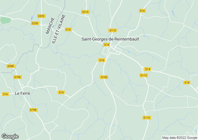 Map for , Ille-et-Vilaine, France