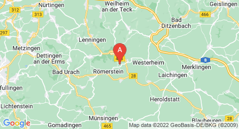 map of Römerstein (Germany)