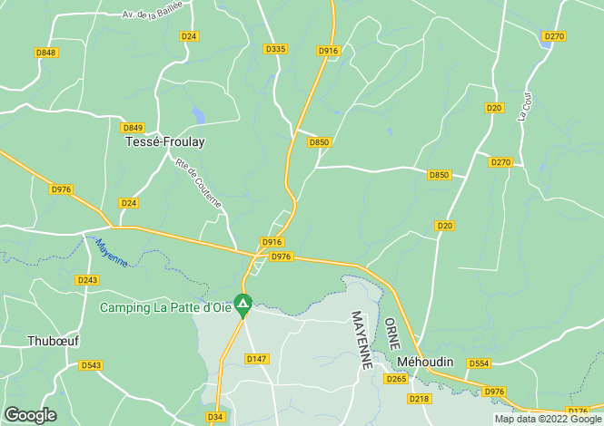 Map for couterne, Orne, France
