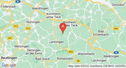 map of Breitenstein (Germany)
