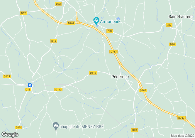 Map for PEDERNEC, Bretagne