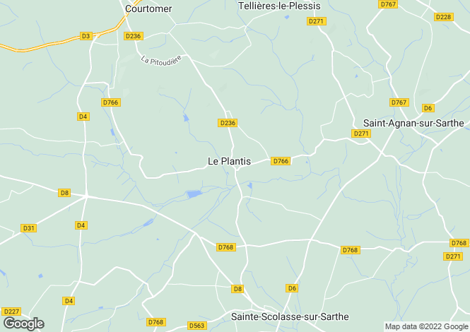 Map for le-plantis, Orne, France
