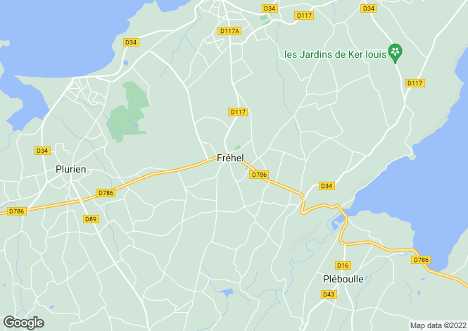 Map for frehel, Côtes-d'Armor, France