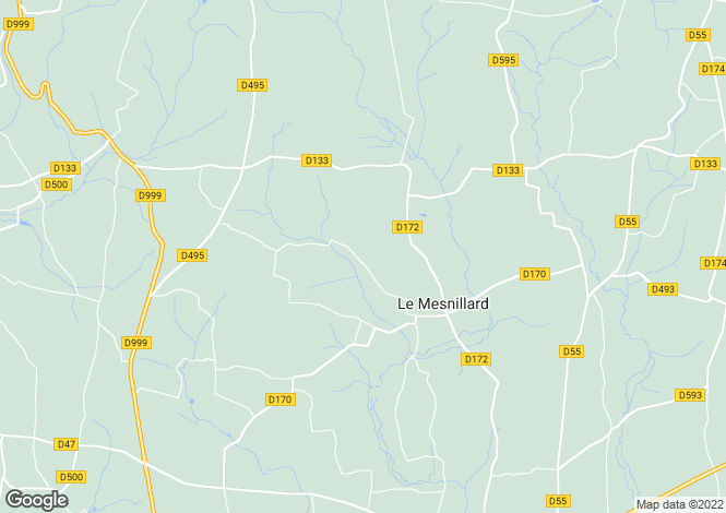 Map for Le Mesnillard, Manche, Normandy