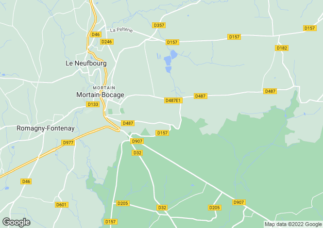 Map for Bion, Basse-Normandie, 50140, France