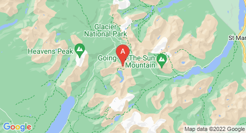map of Clements Mountain (United States of America)