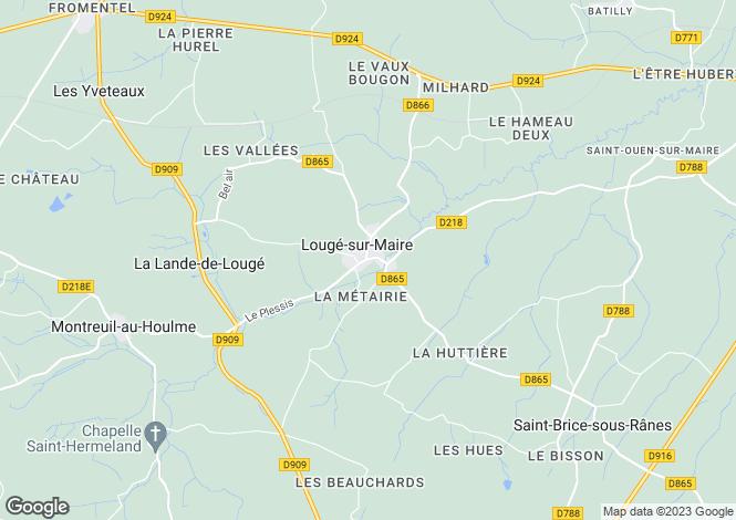 Map for argentan, Orne, France