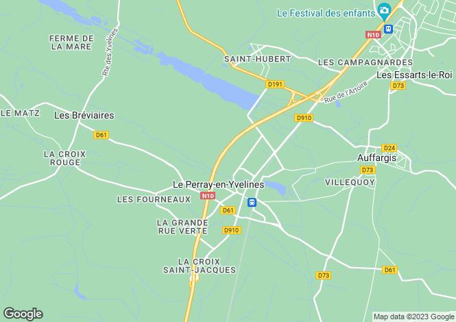 Map for LE PERRAY-EN-YVELINES