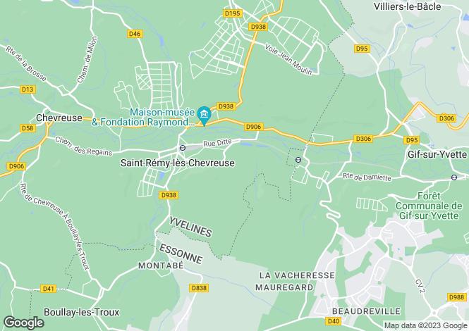Map for st-remy-les-chevreuse, Yvelines, France