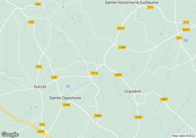 Map for briouze, Manche, France