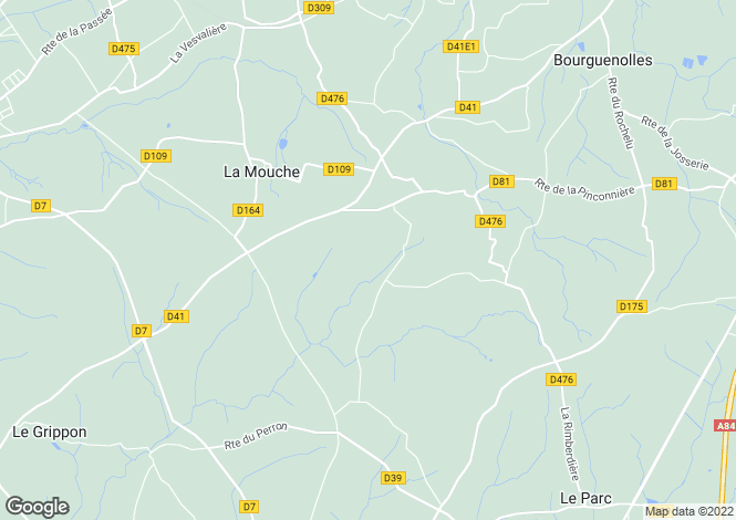 Map for Normandy, Manche, Noirpalu