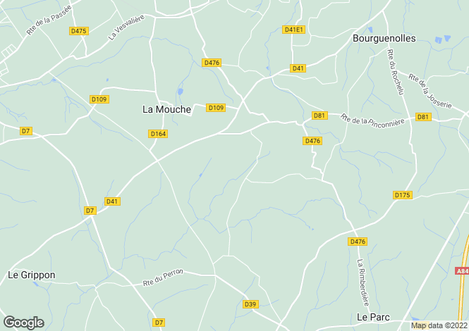 Map for Noirpalu, Manche, Normandy