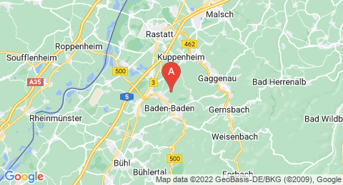 map of Hardberg (Germany)