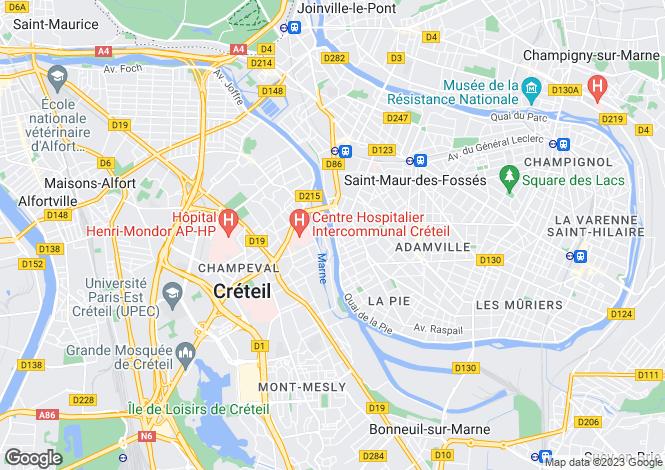 Map for Paris, Paris, Paris-Isle of France