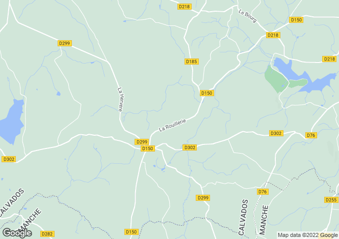 Map for Champ-du-Boult, Calvados, Normandy