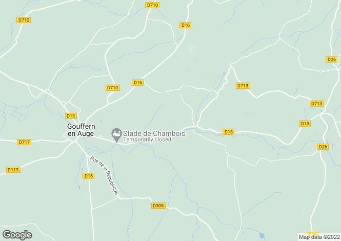 Map for Omméel, Orne, Normandy