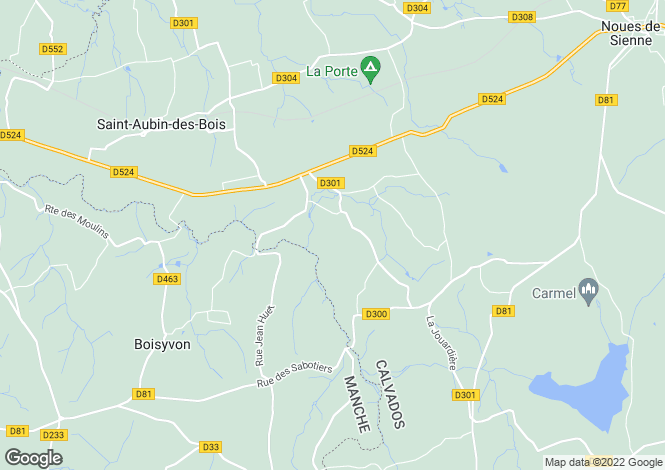 Map for fontenermont, Calvados, France