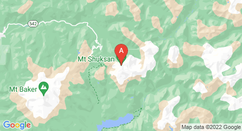 map of Mount Shuksan (United States of America)