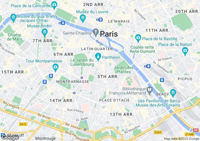 Map for Lhomond, Estrapade, Paris