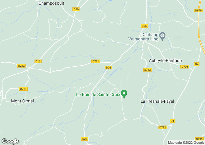 Map for Normandy, Orne, Survie