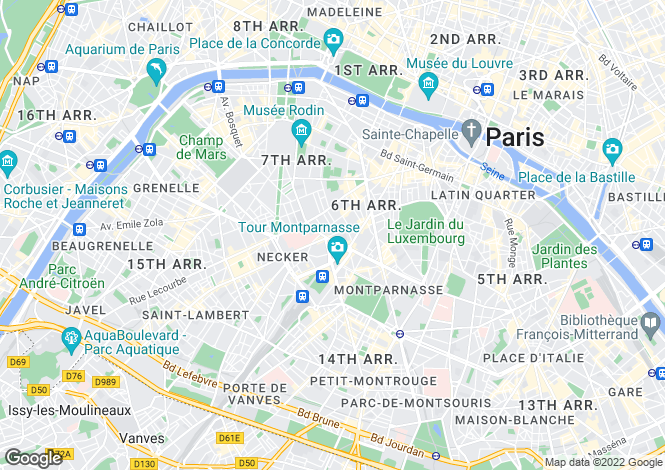 Map for Saint Placide, Cherche Midi, Paris