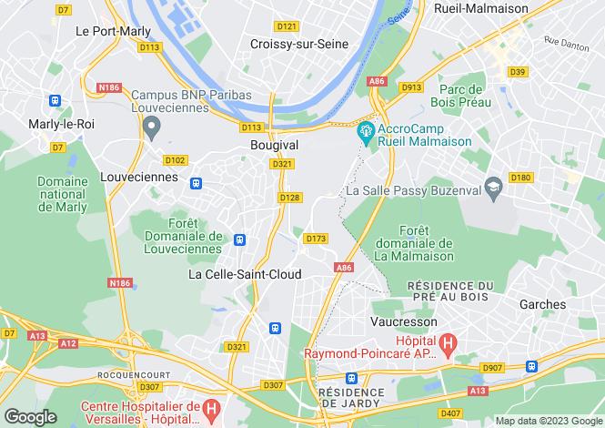 Map for la-celle-st-cloud, Yvelines, France