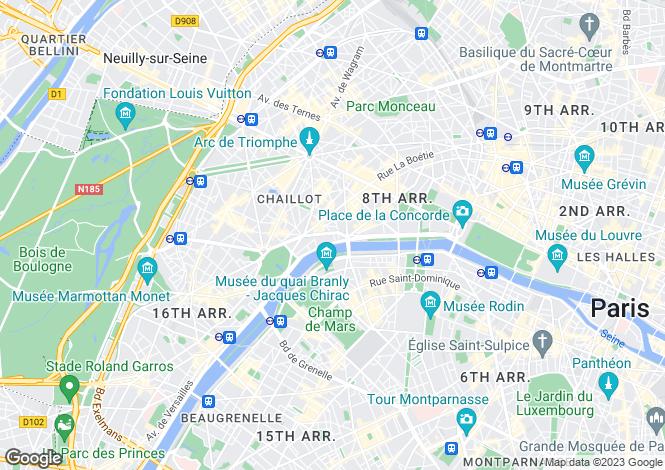 Map for Paris-Isle of France, Paris, Paris