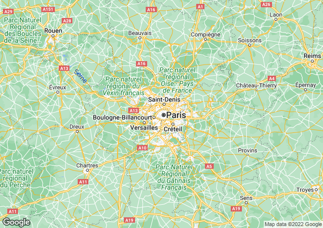 Map for paris-v, Paris, France