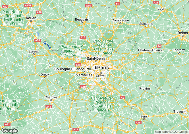 Map for paris-xvi, Paris, France