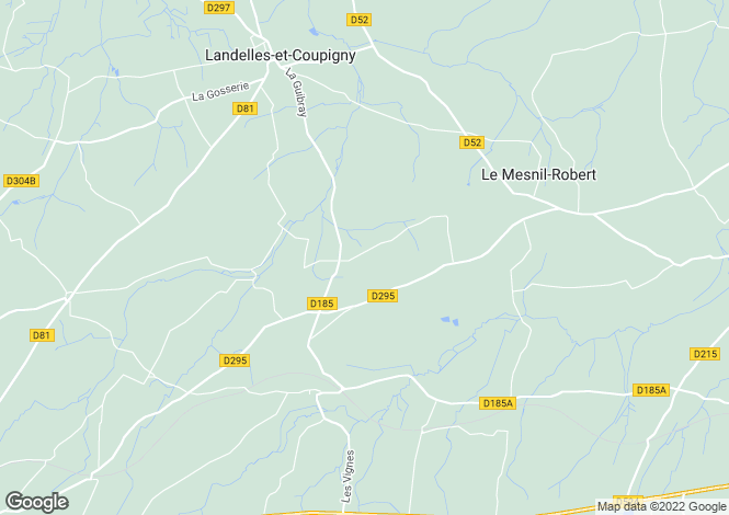 Map for 14380 LE MESNIL-BENOIST, Calvados, France