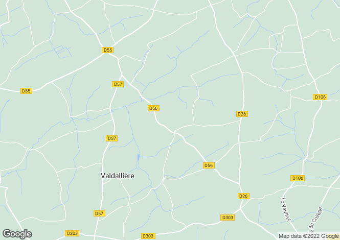 Map for Normandy, Calvados, Le Theil Bocage