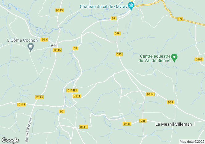 Map for Le Mesnil-Amand, Manche, Normandy