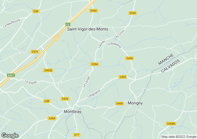 Map for Montbray, Basse-Normandie, 50410, France