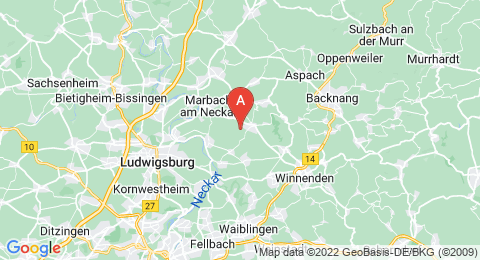 map of Lemberg (Germany)