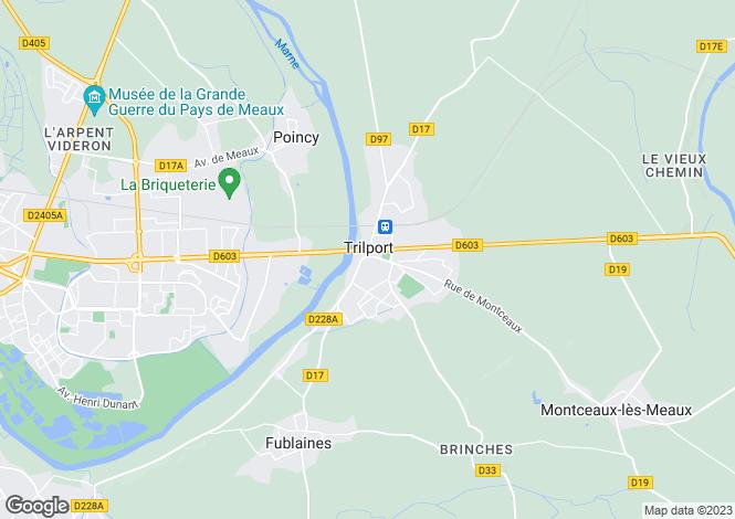 Map for Trilport, Seine-et-Marne, Paris-Isle of France