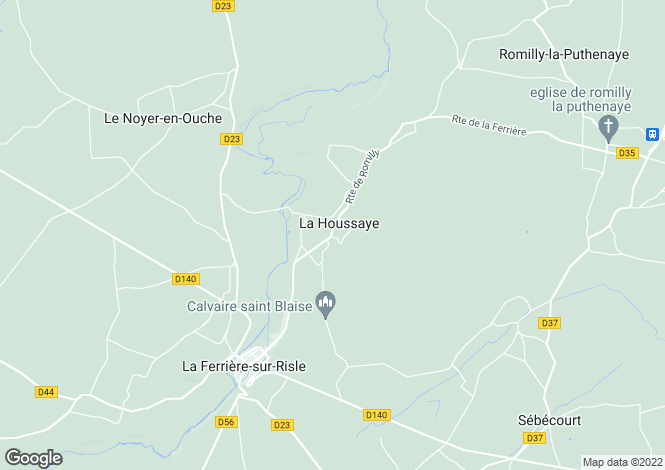 Map for la-houssaye, Eure, France