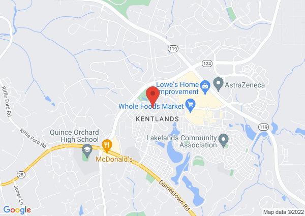 Map of 485 Tschiffely Square Rd, Gaithersburg, MD 20878, USA