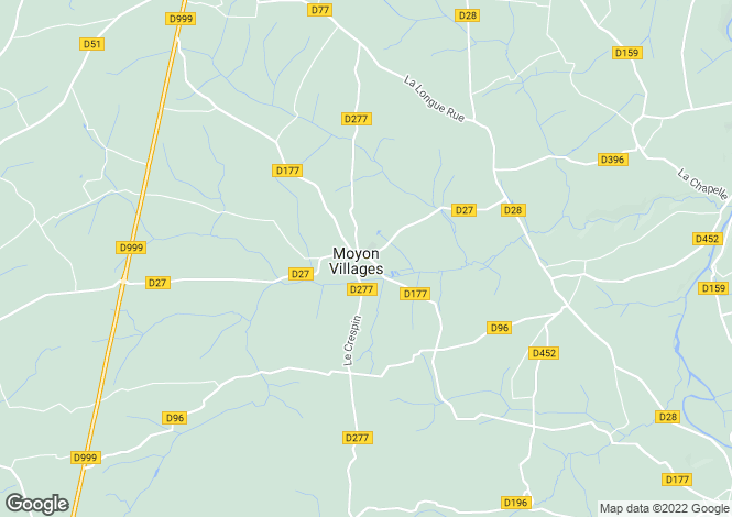 Map for moyon, Manche, France