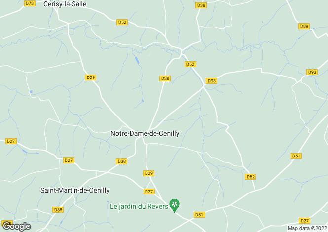 Map for Normandy, Manche, Notre-Dame-de-Cenilly