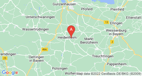 map of Hahnenkamm (Germany)