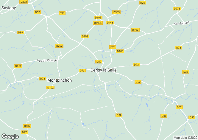 Map for CERISY LA SALLE, 50210, France