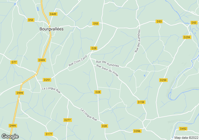 Map for ST ROMPHAIRE, 50420, France
