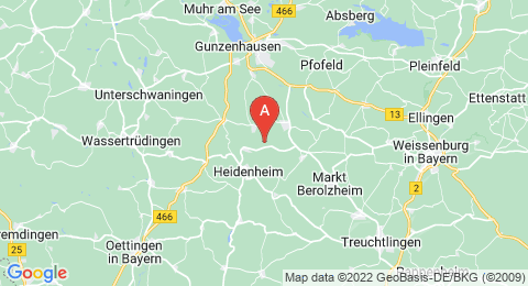 map of Gelber Berg (Germany)