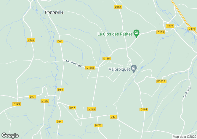 Map for Half Timbered Normandy House, Pays D'Auge, Normandy