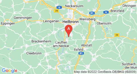 map of Haigern (Germany)
